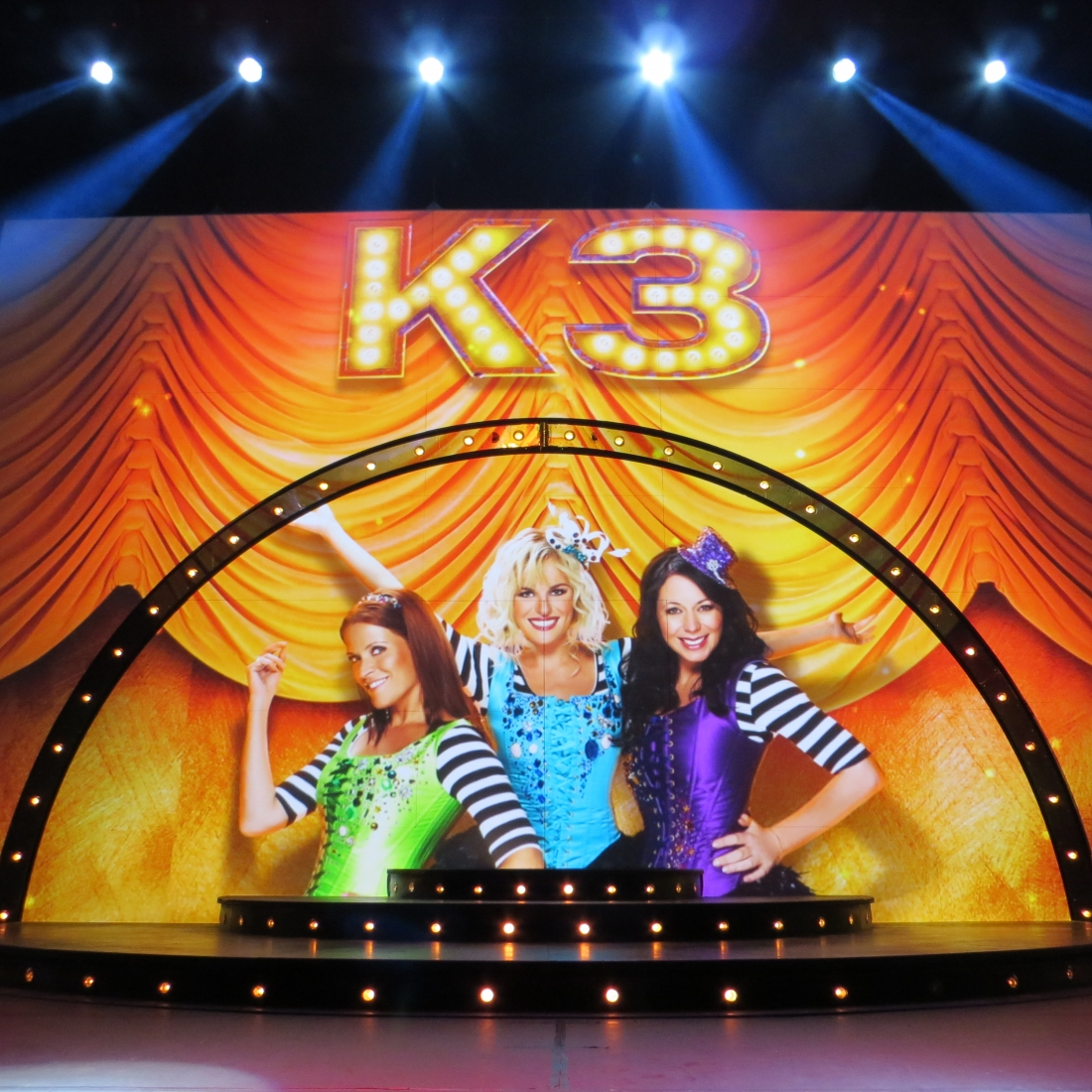 K3 on tour 2013