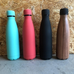 Insulating drinking bottle hot and cold 500ml