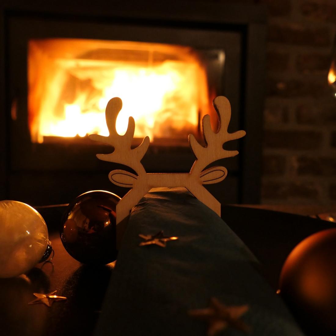 Napkin rings Christmas
