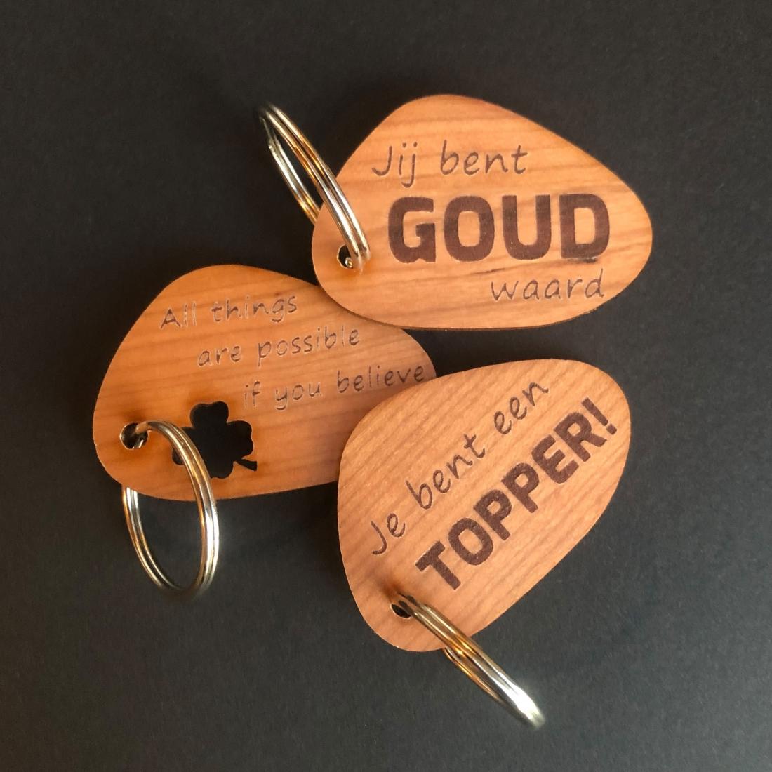 PEP-UP sleutelhanger
