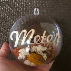 Decorative acrylic Christmas ball