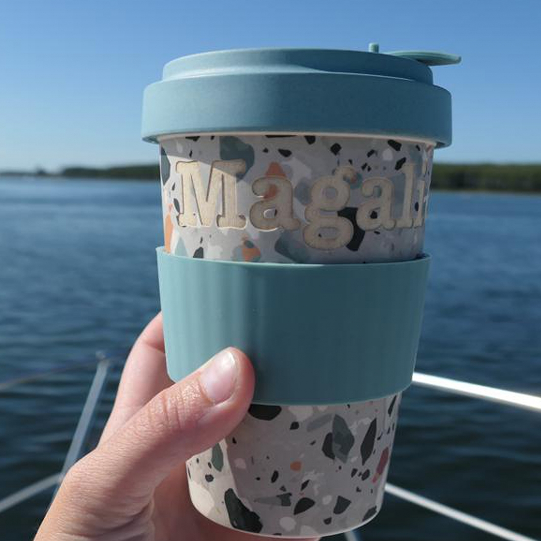 Coffee mug bamboo