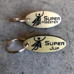 Keychain 'super teacher'